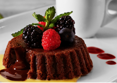 Enjoy Decadent Desserts!