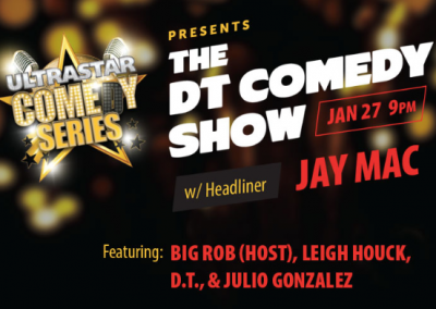 Enjoy a Good Laugh at the Next DT Comedy Show