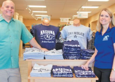 Sibley's West Strikes Gold with AZ Gifts