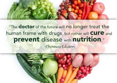 Nutrition Prevents Disease!