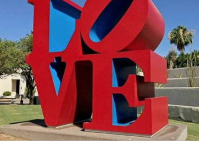 Love Sculpture Reopens