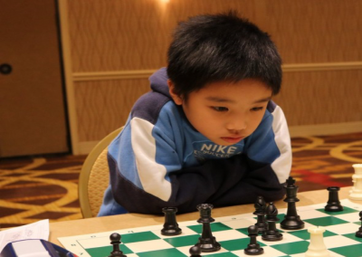 Gilbert Boy is King of Chess