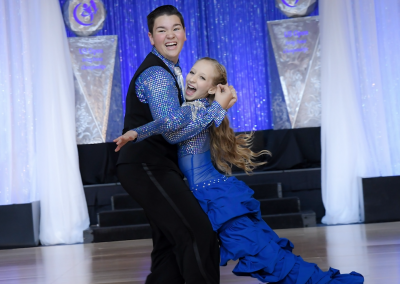 Dancing Teens Sweep Competition