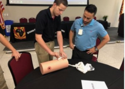 Students Learn Lifesaving Measures
