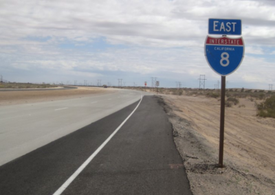Traveling Along I-8