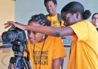 Film School Helps Girls of Color