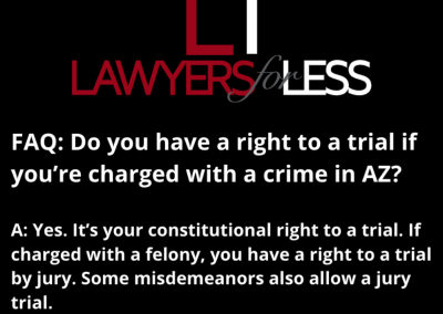 Your Right to a Trial