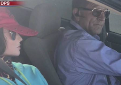 Driver Caught with Dummy in Passenger Seat