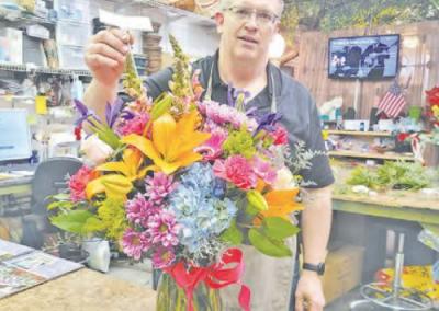 Cartels Help Flowers Stay Fresh