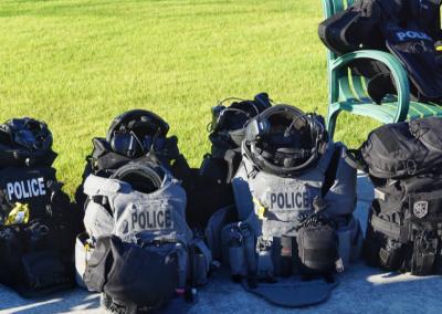 SWAT Members Gear