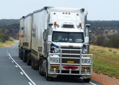 Truck Drivers Spend 100K+ Miles Per Year on the Road