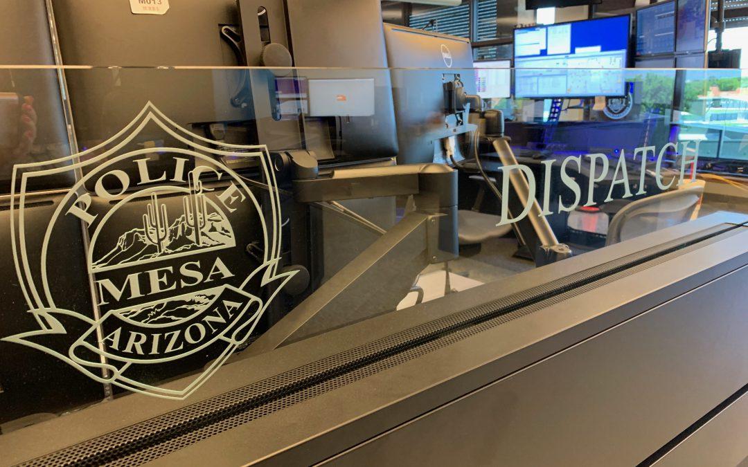 A Look Inside Mesa PD's Comm Center